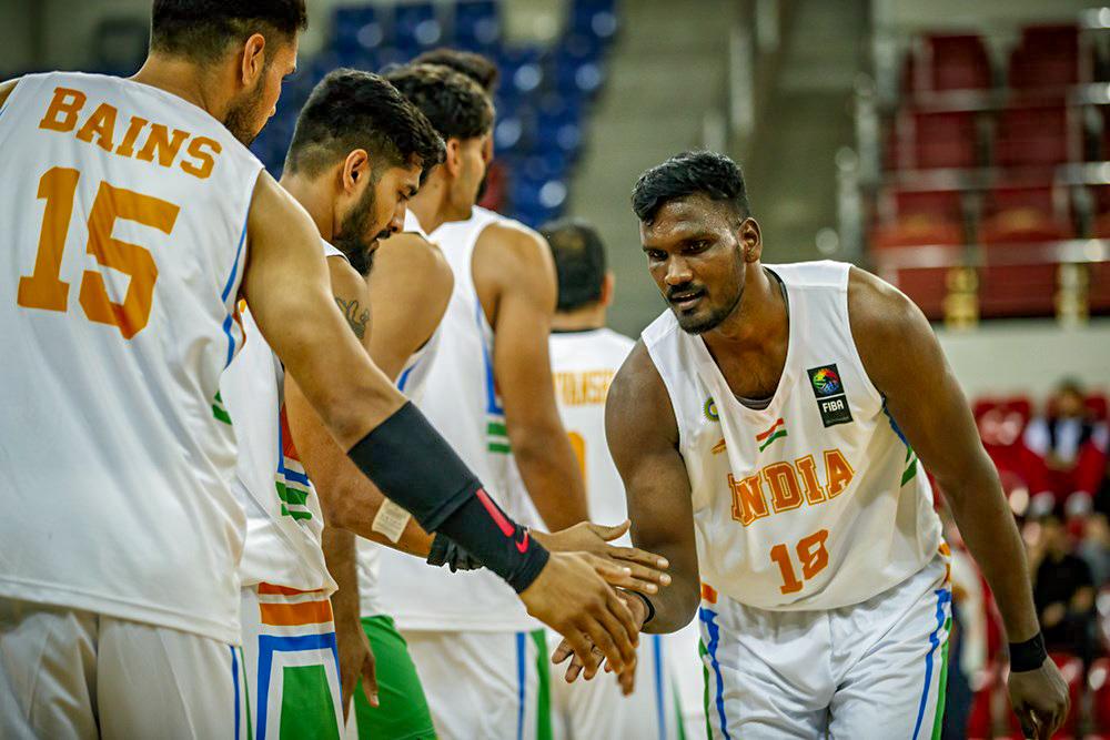 Aravind Annadurai greets Jagdeep Bains