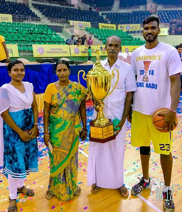 Aravind Annadurai of Tamil Nadu with family